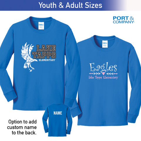 Lake Tapps - Long Sleeve Tee, Youth & Adult