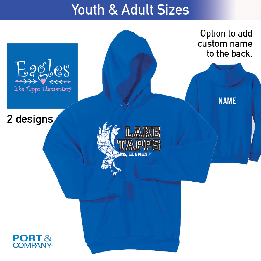 Lake Tapps Hoodie - Youth & Adult
