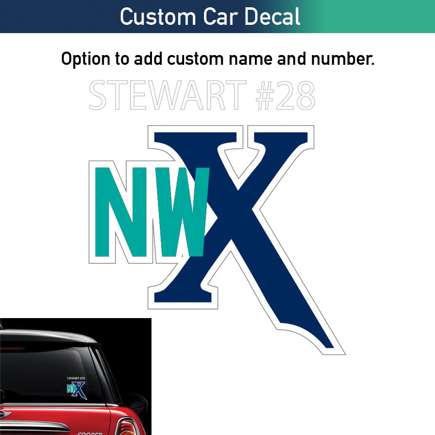 NWX Car Decal