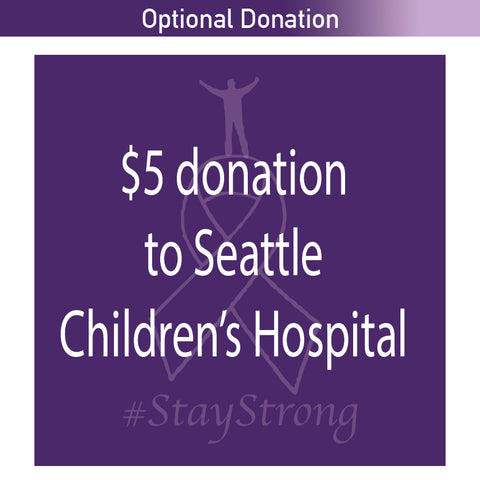 Optional Donation to Seattle Children's Hospital