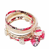 Romantic Pink Bracelet Set - Joker & Witch - 3