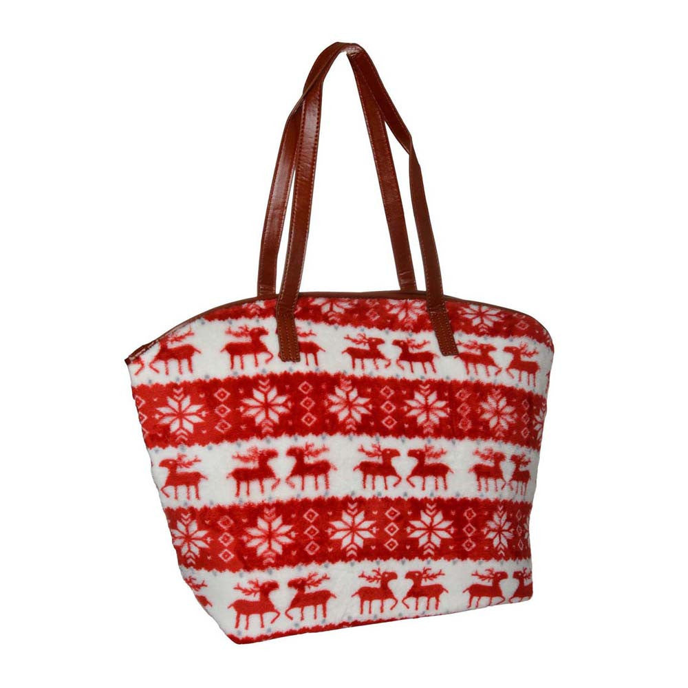 Red Soft Velvet Reindeer Bag - Joker & Witch - 2
