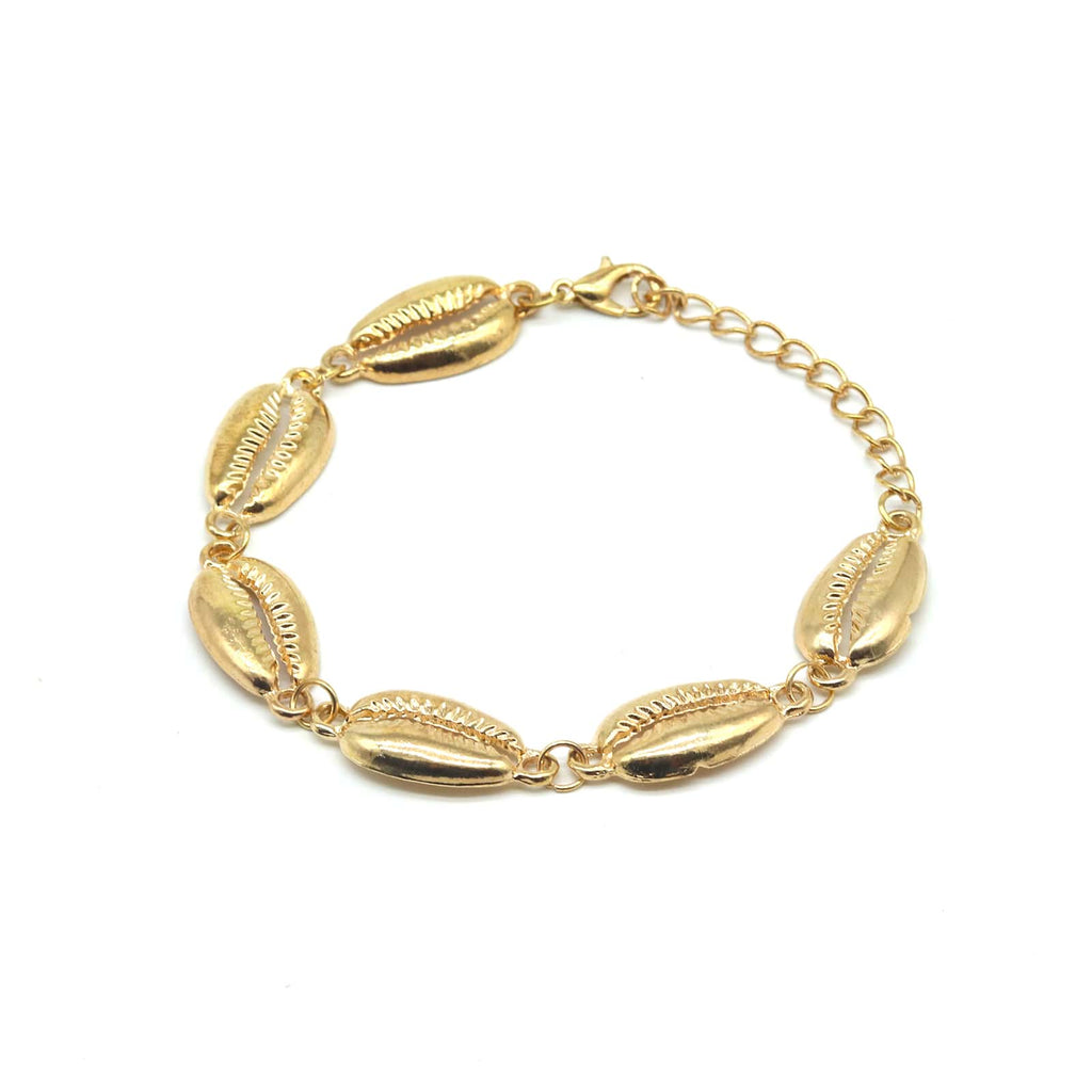 Sharon Sea Shells Gold Bracelet - Joker & Witch