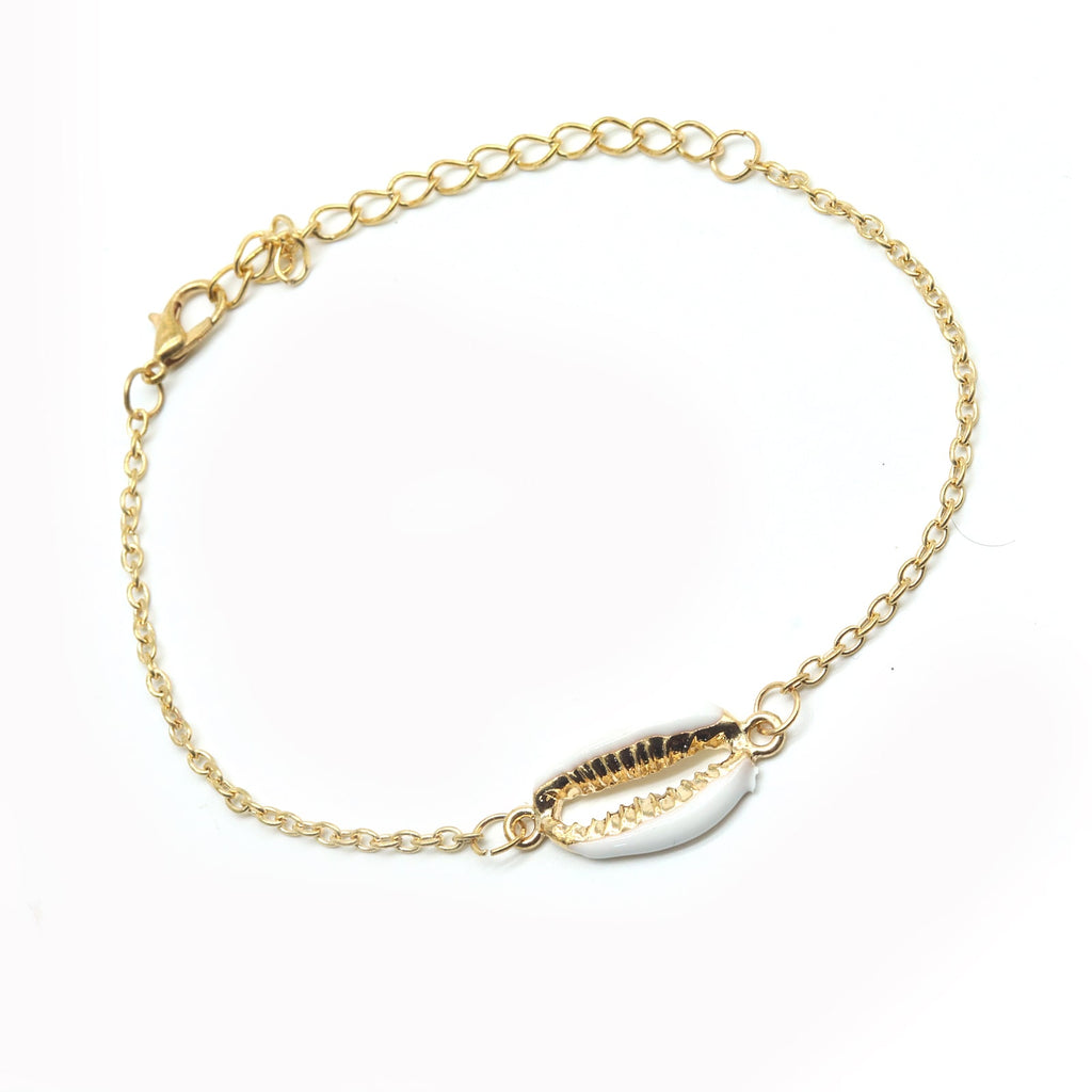 Sea-Shore Shell Gold Bracelet - Joker & Witch