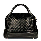 Black Quilted Shoulder Bag - Joker & Witch - 4