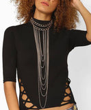 Statement Choker Chain Necklace