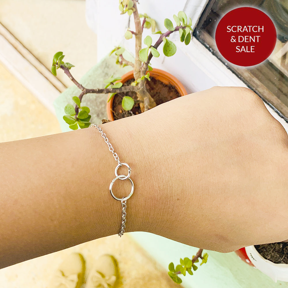 Daisy Single Silver Bracelet - Joker & Witch