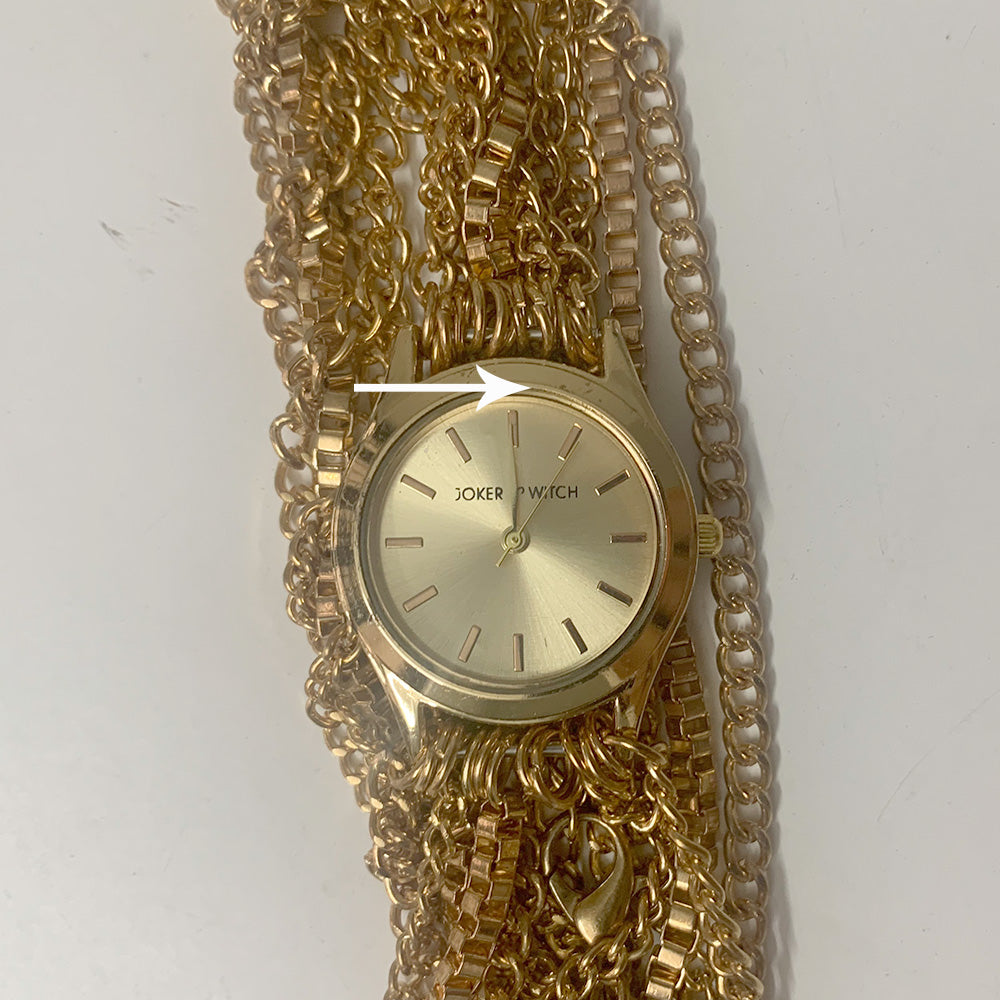 Gold Chain Party Watch