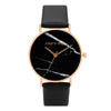 Hannah Marble Black Dial Watch