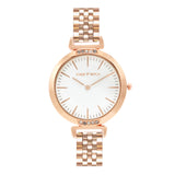 PETITE WHITE CLASSIC ROSEGOLD WATCH - Joker & Witch