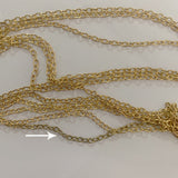 Golden Double layer Body Chain