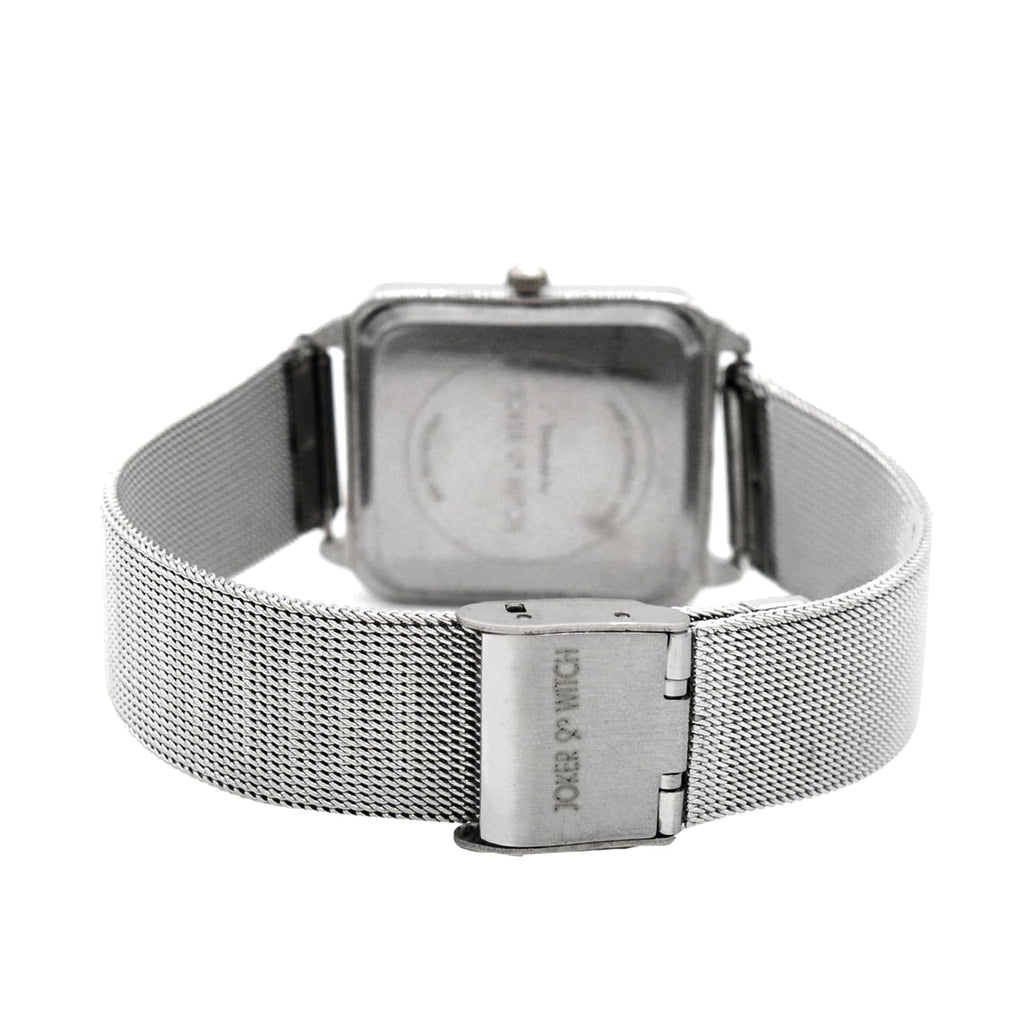 Adele White Dial Silver Watch Bracelet Stack - Joker & Witch