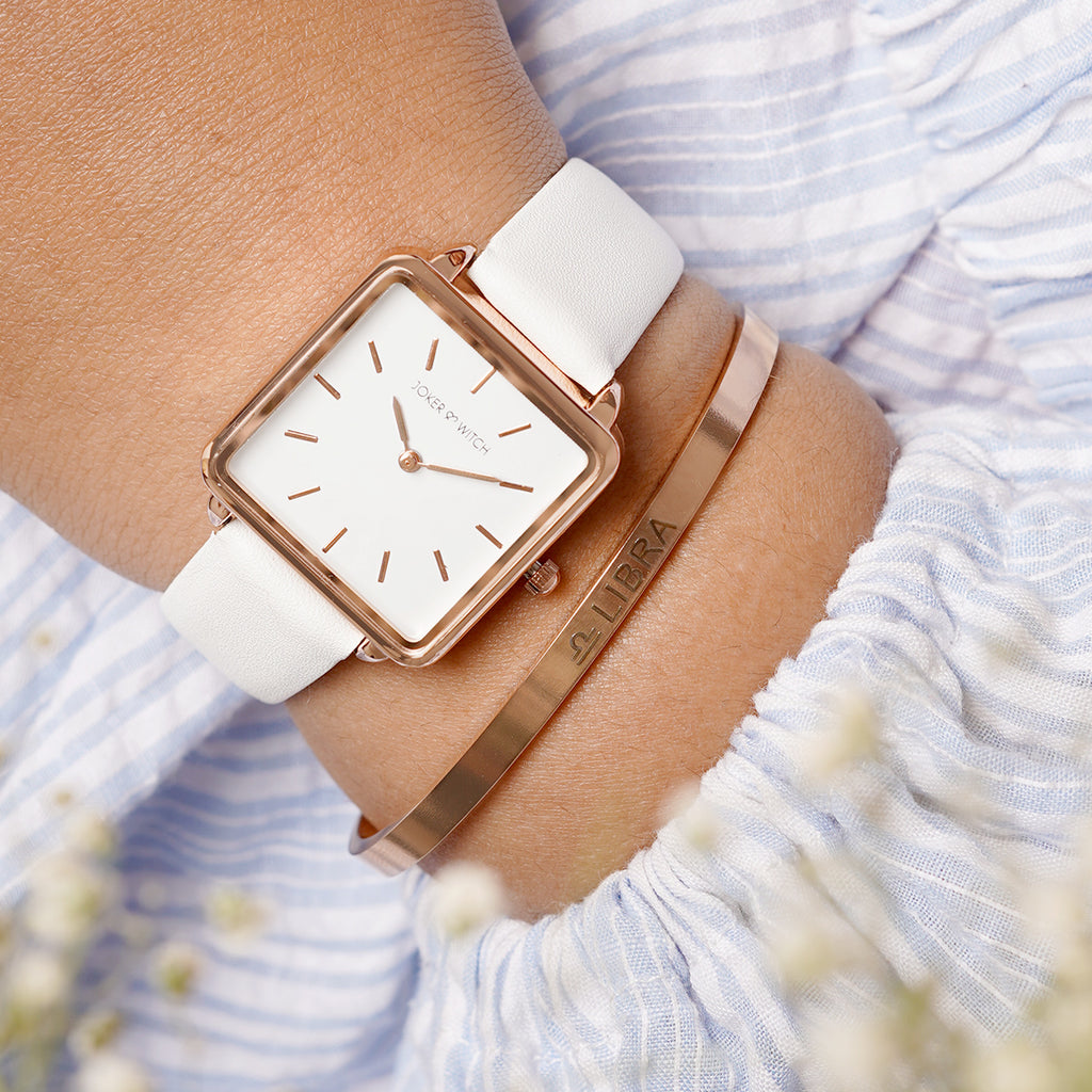 Emily Libra Watch Bracelet Stack