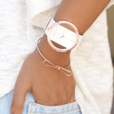 Mystical Bow Watch Bracelet Stack