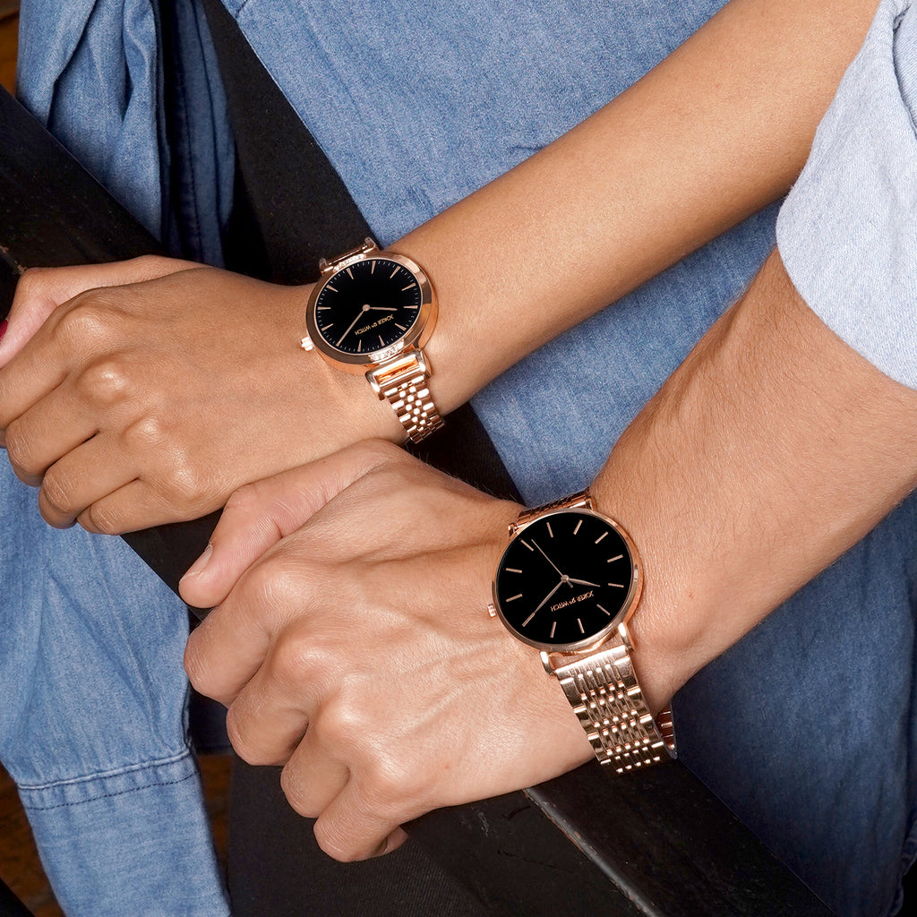 Edith & Archie Couple Watches