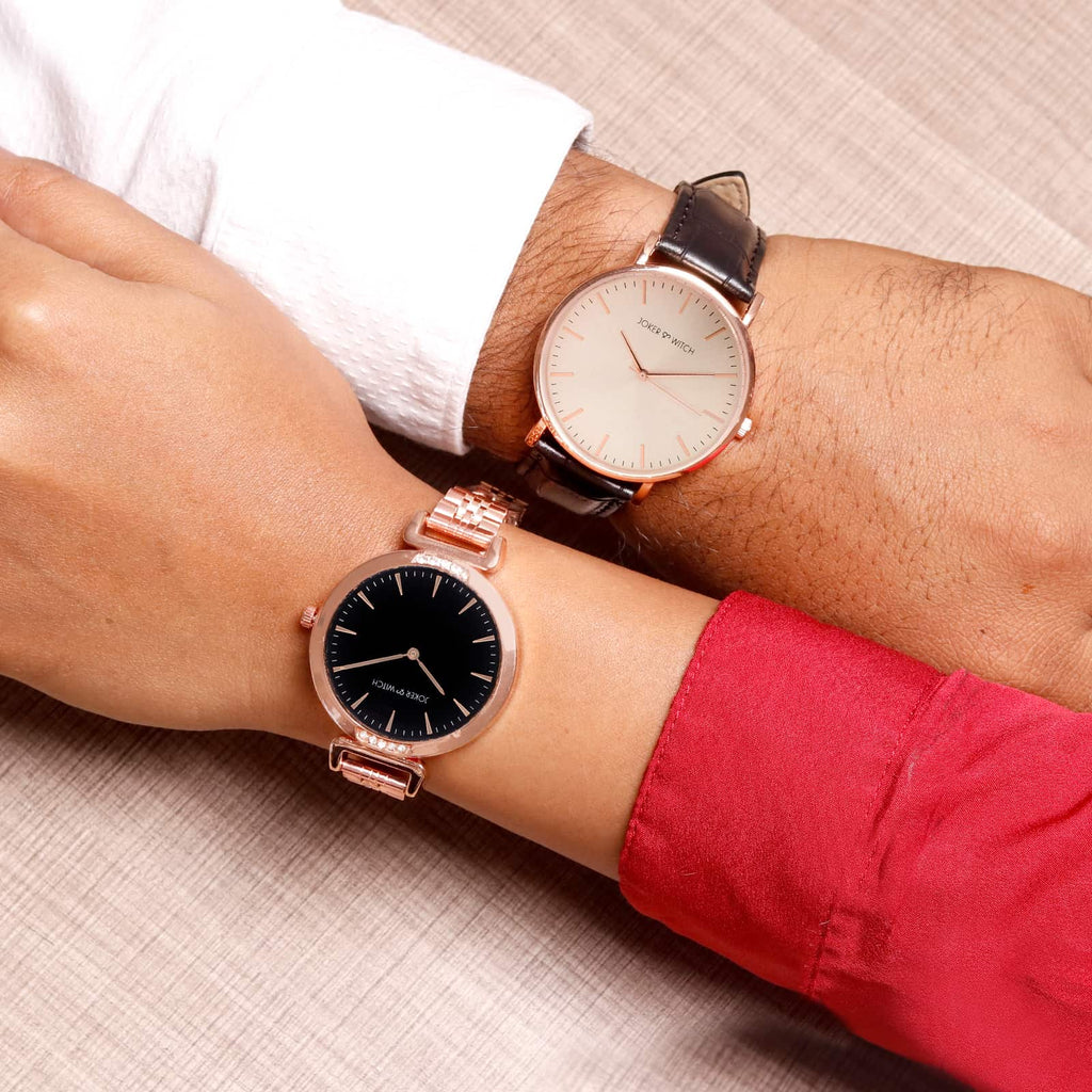Margaret and Andrew Couple Watches - Joker & Witch