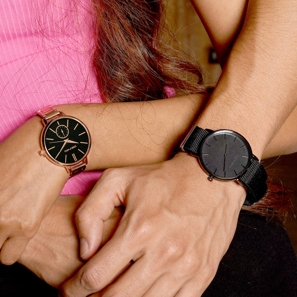 Barney & Valancy Couple Watches