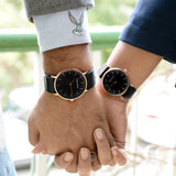 Romeo & Juliet Black Couple Watches - Joker & Witch