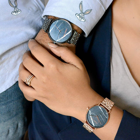 Sebastian and Mia Couple Watches