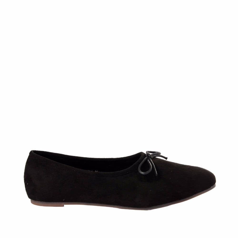 Simple Suede Black Shoes - Joker & Witch - 1