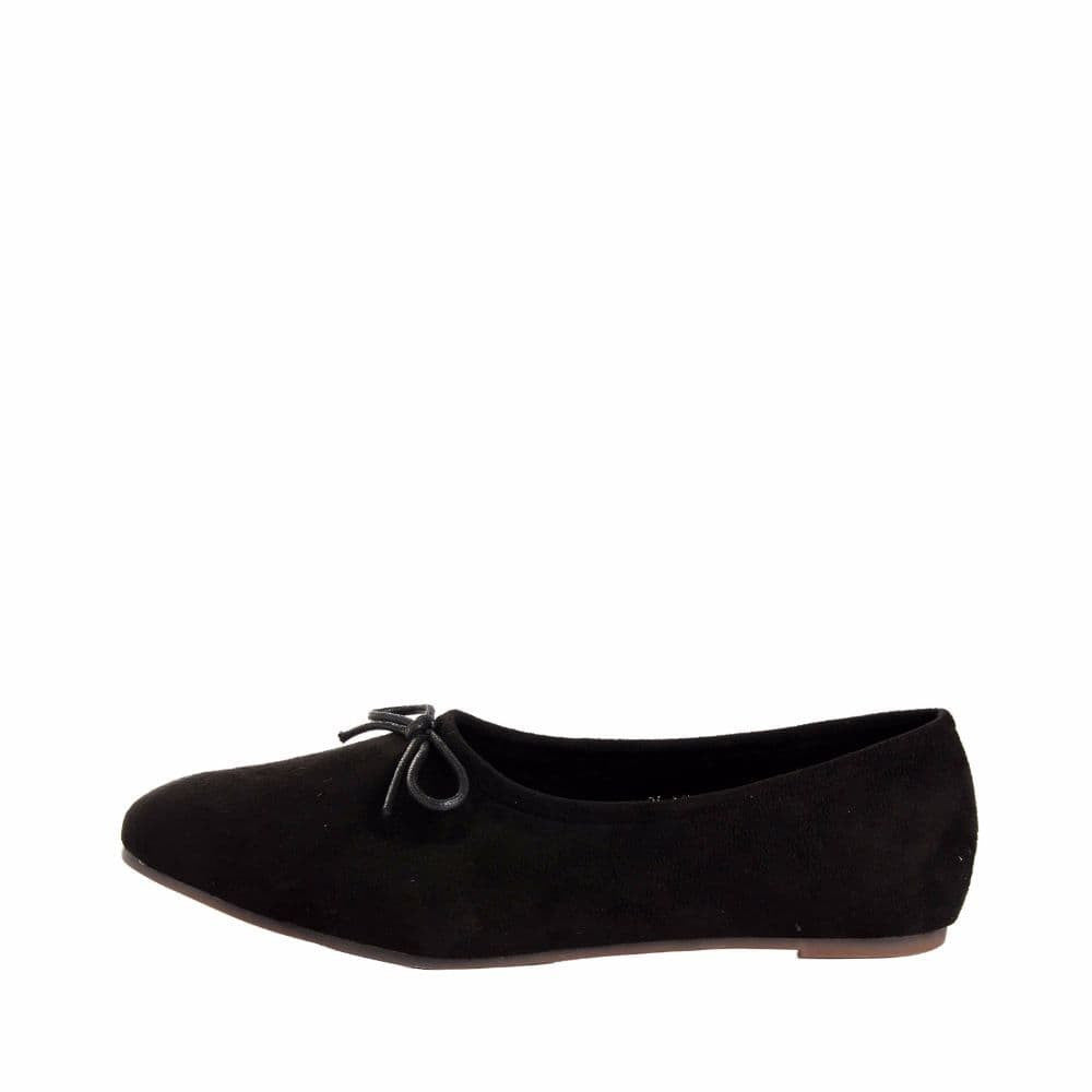 Simple Suede Black Shoes - Joker & Witch - 5