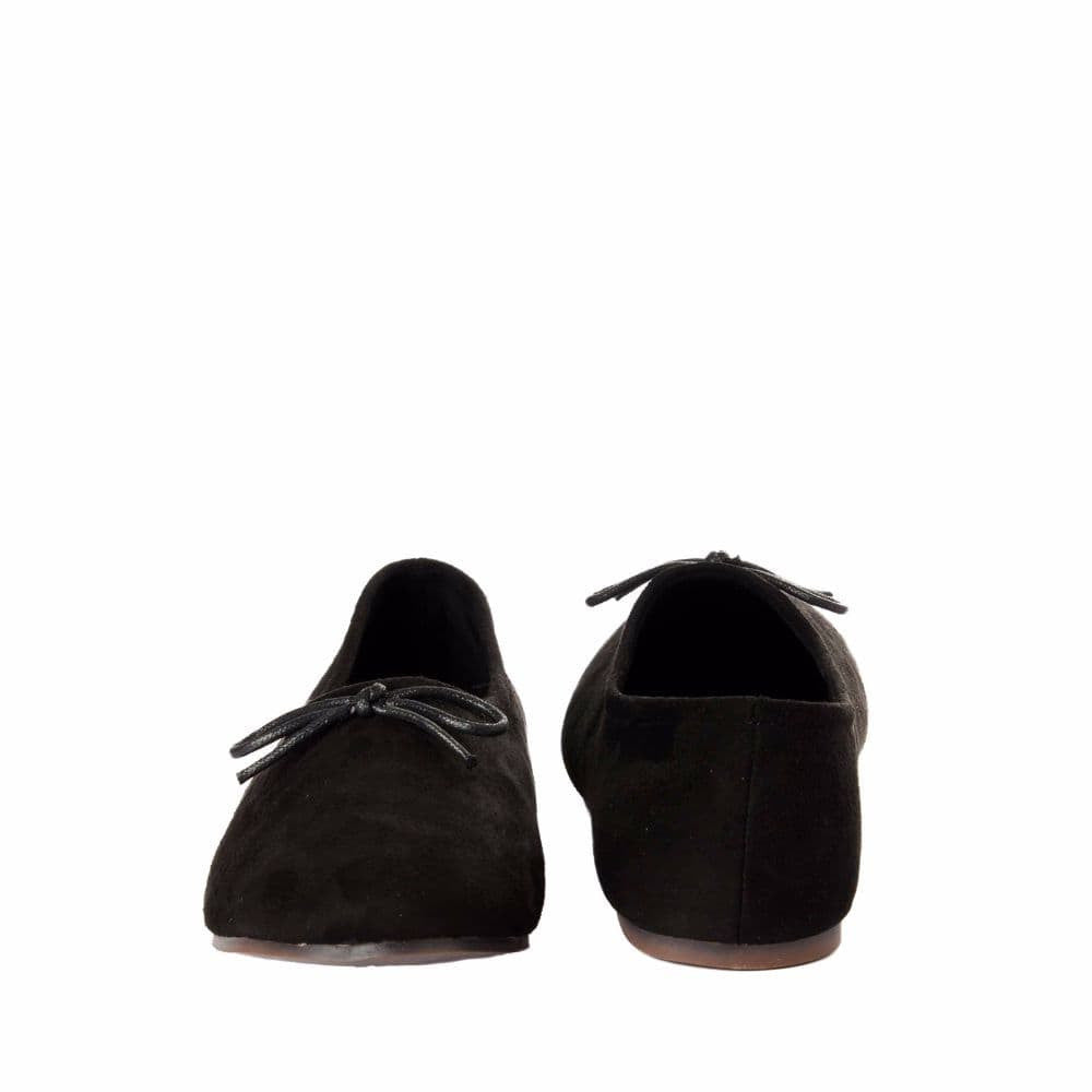 Simple Suede Black Shoes - Joker & Witch - 10