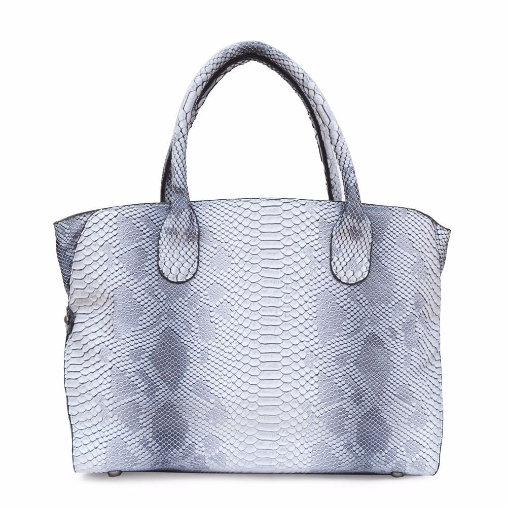 Snake Print White Shoulder Bag - Joker & Witch - 2
