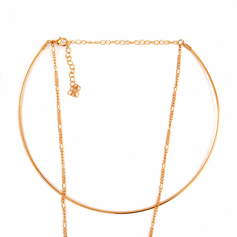 Minimal Gold Chain Necklace