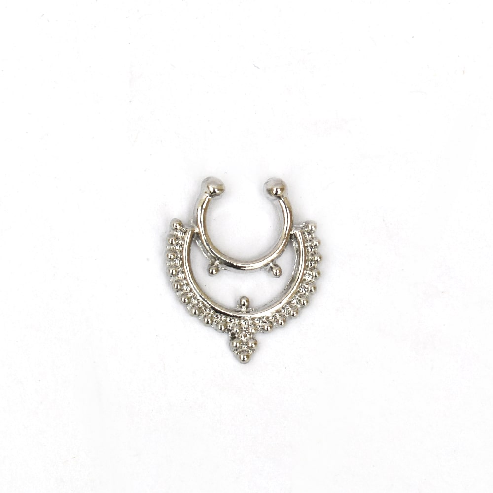 Silver Goddess Septum Ring
