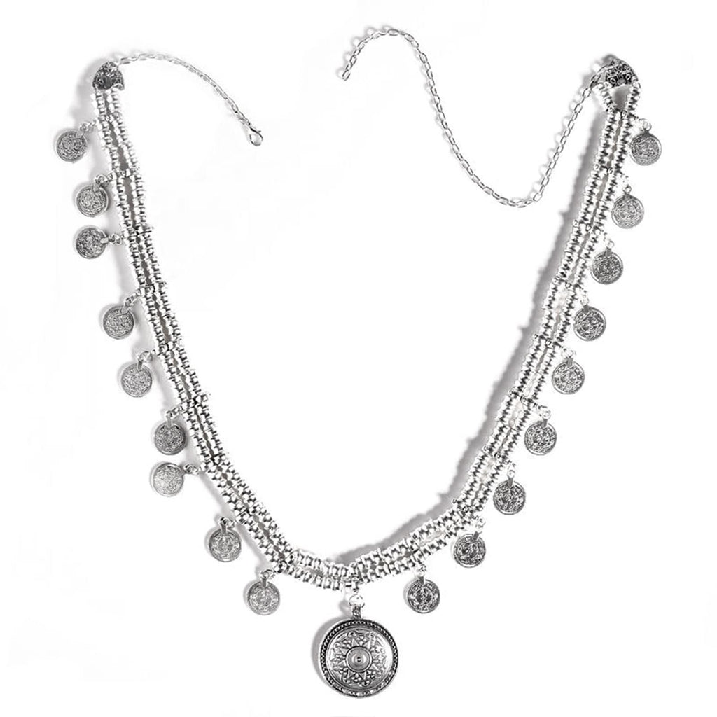 Jangly coin gradual Belly chain - Joker & Witch