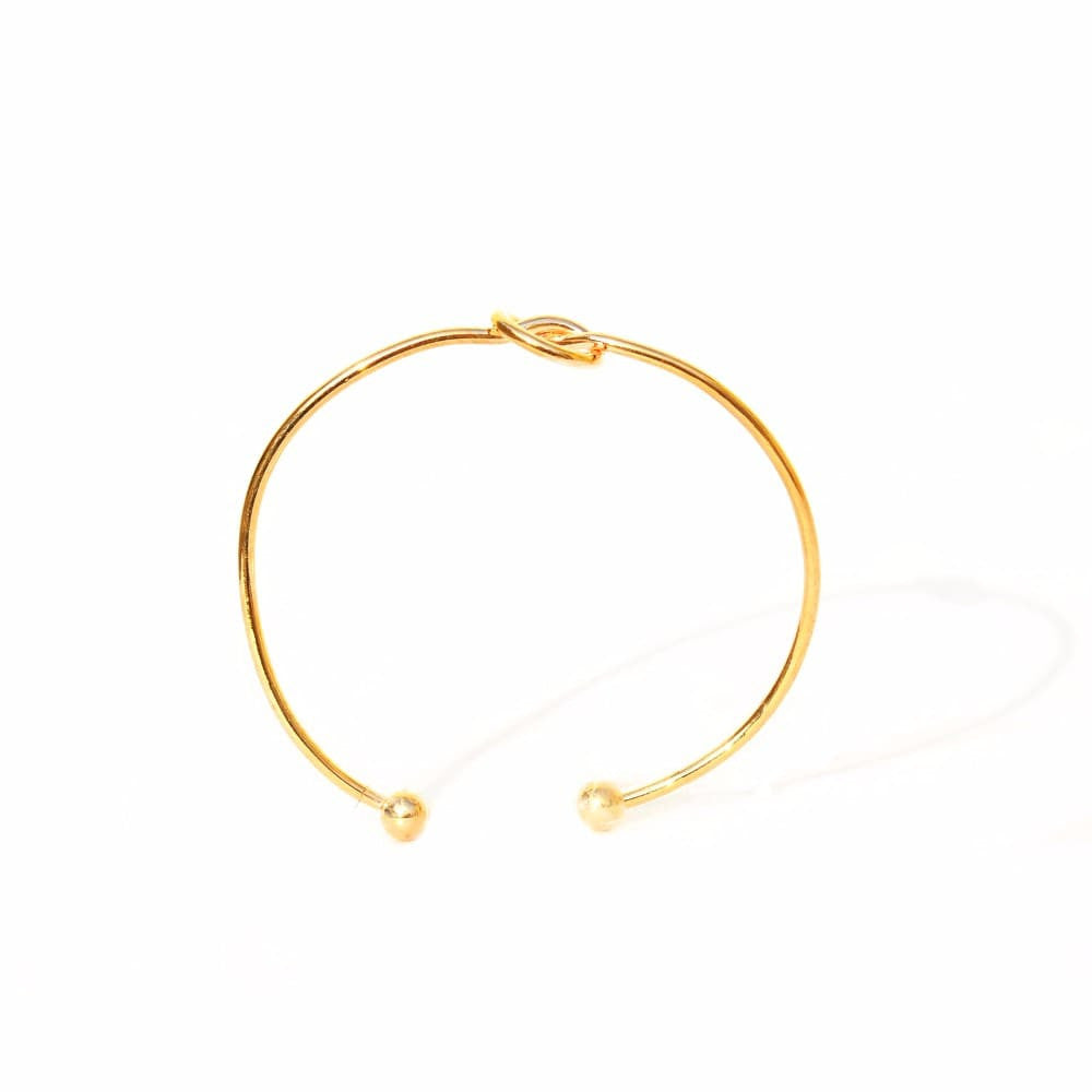 Gold Knot Bracelet - Joker & Witch