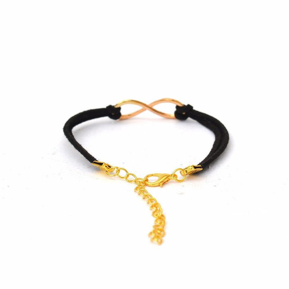 Black Infinity Bracelet - Joker & Witch