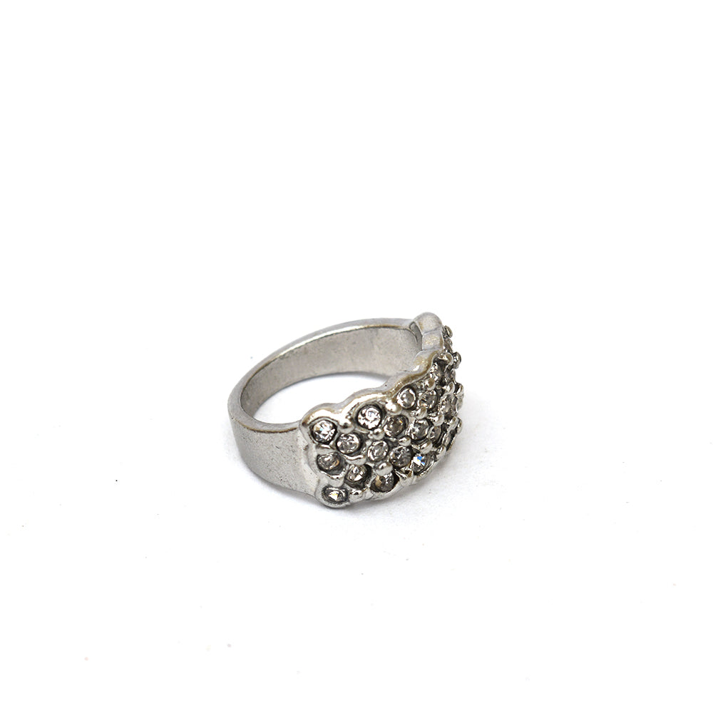 Studded Silver ring
