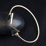 Marble Arrow black Bracelet