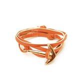 Tan Anchor Loop Bracelet