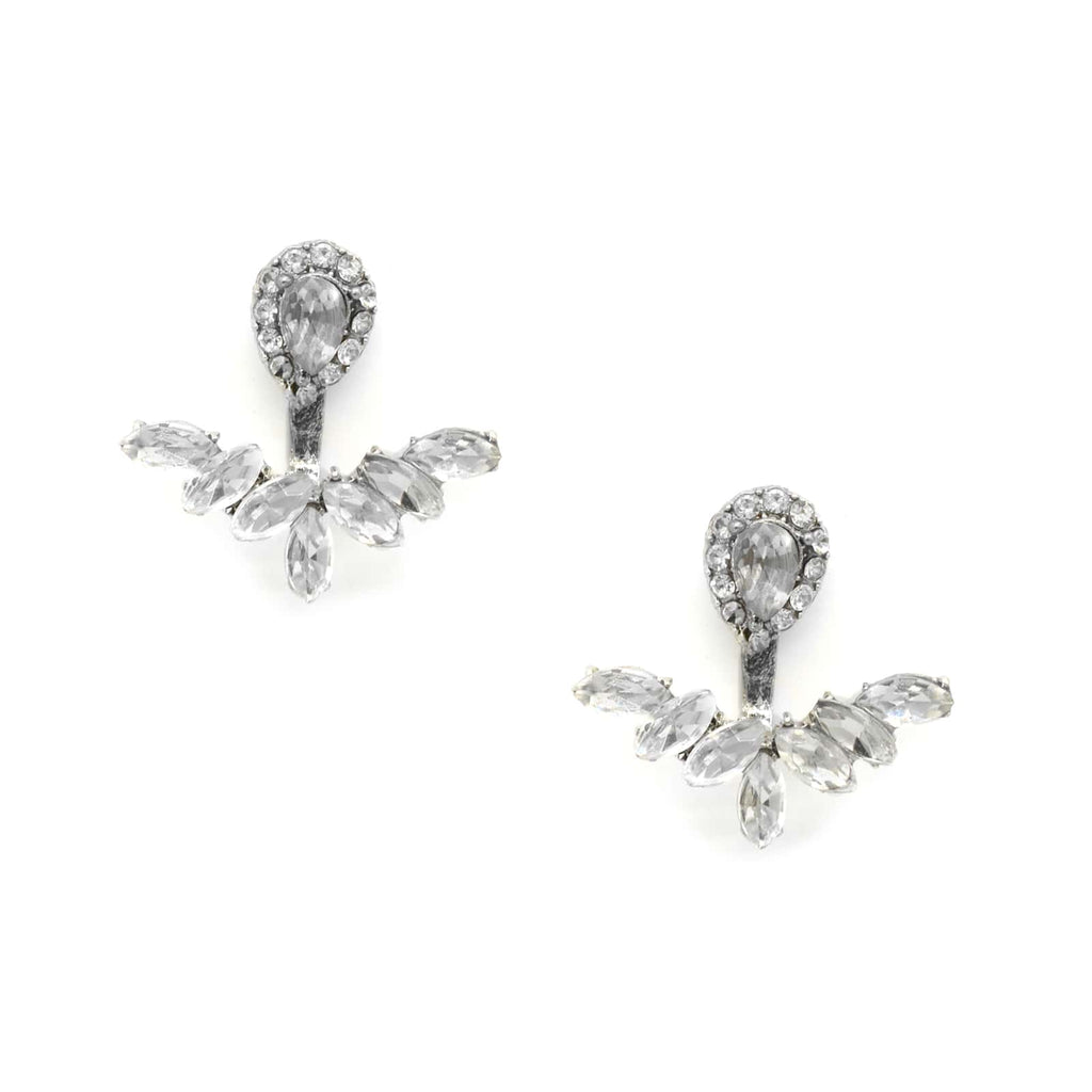 Cora Chandelier Silver Earrings