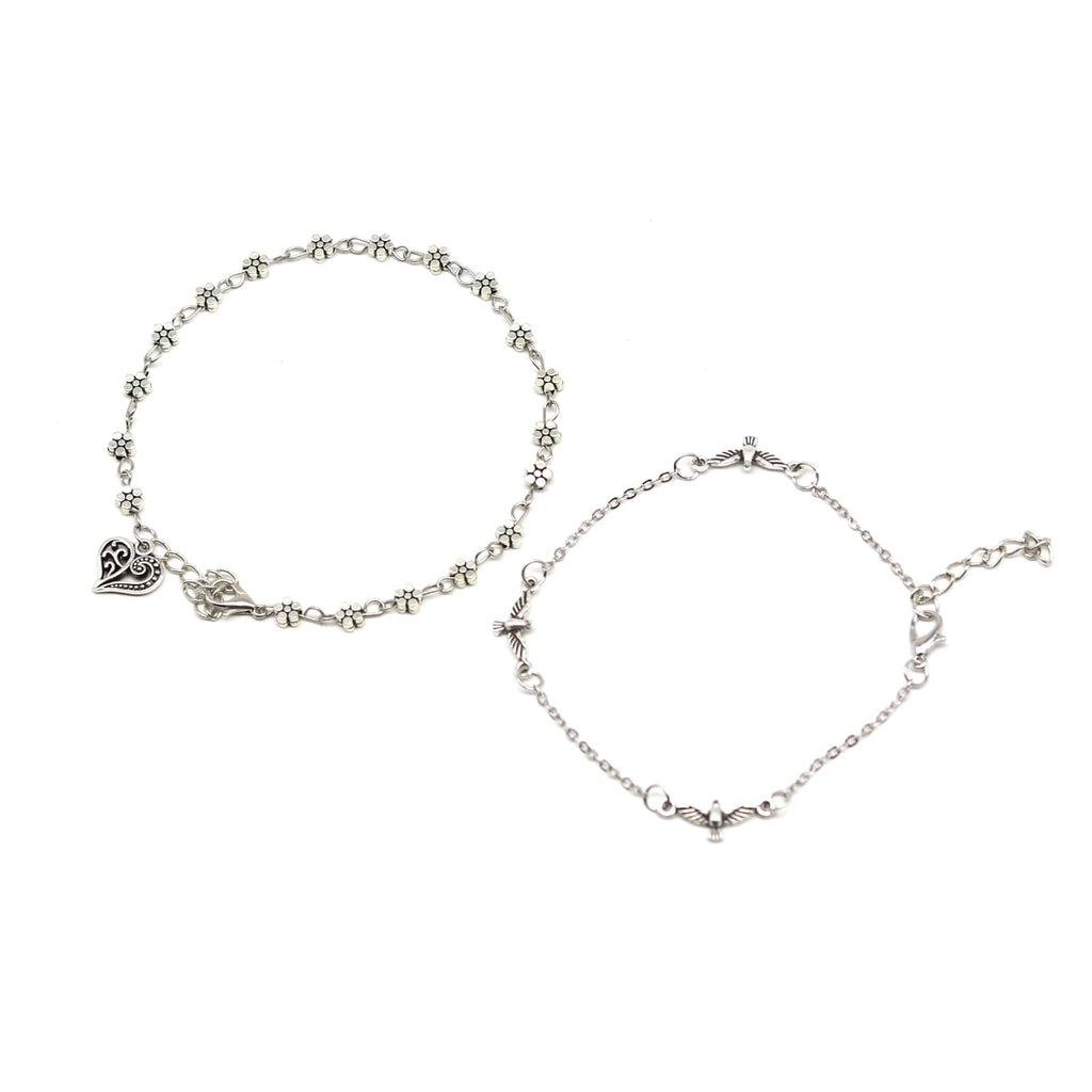 Taylor set of 2 anklets