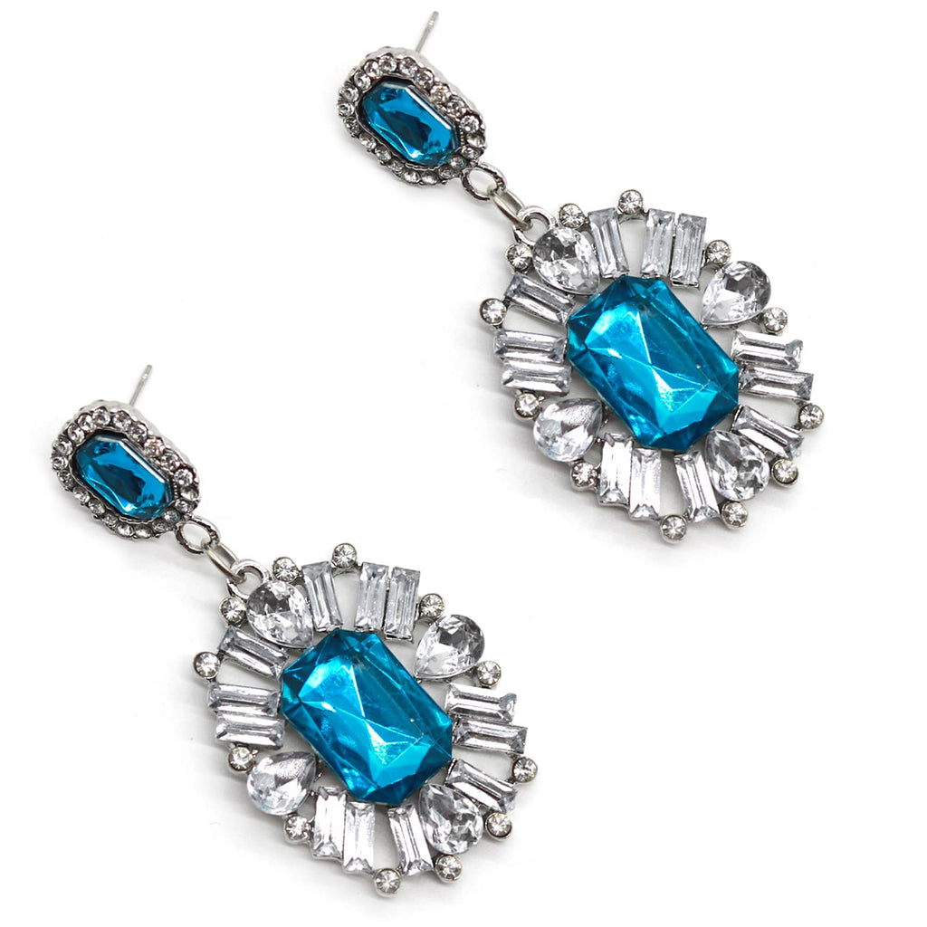 Chateau Sapphire Earrings - Joker & Witch