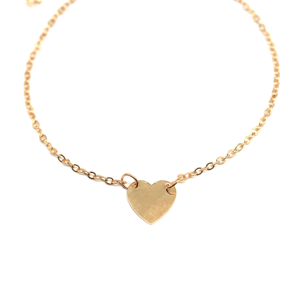 Avery Gold Anklet - Joker & Witch