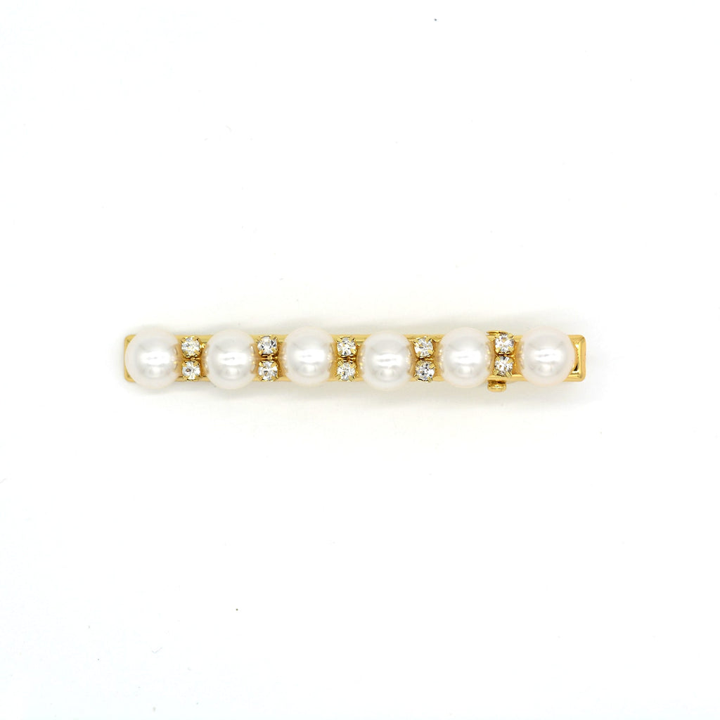 Melody pearl Gold hairpin