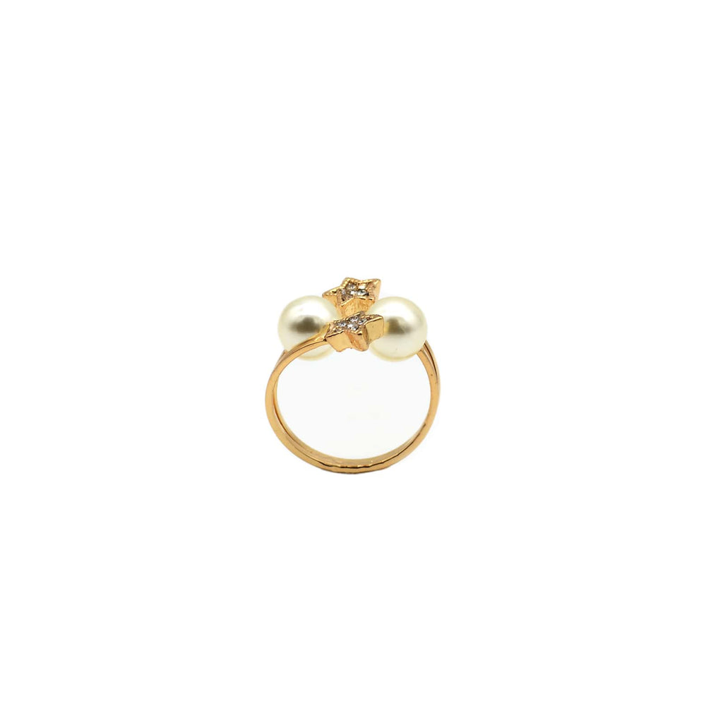 celestine Gold ring - Joker & Witch
