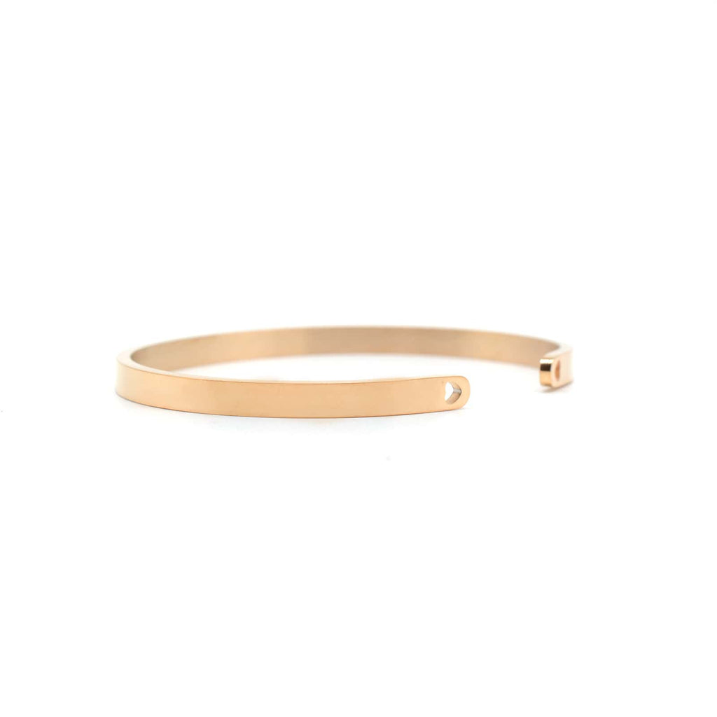 I Love You To The Moon And Back Rose Gold Mantra Bands - Joker & Witch