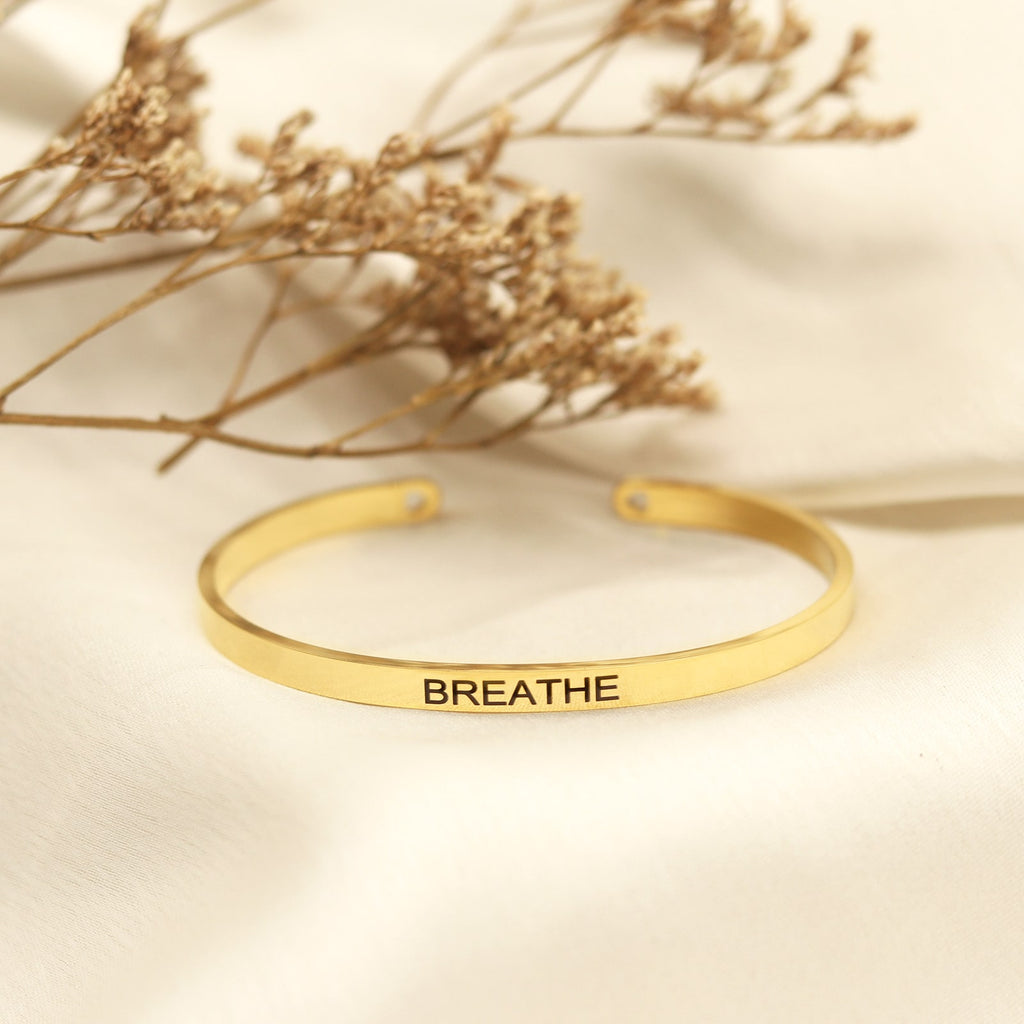 Breathe Gold Mantra Band
