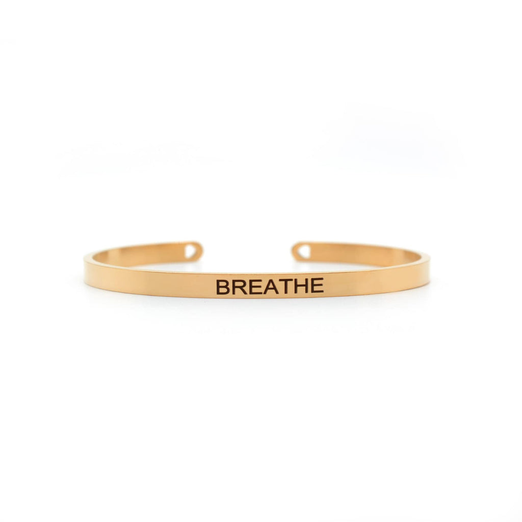 Breathe Rose Gold Mantra Band - Joker & Witch