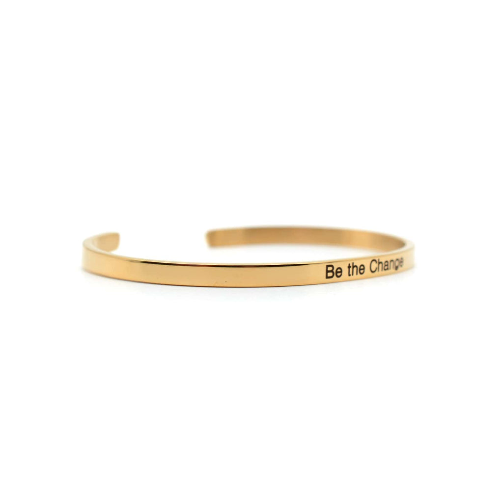 Be The Change Rose Gold Mantra Band - Joker & Witch