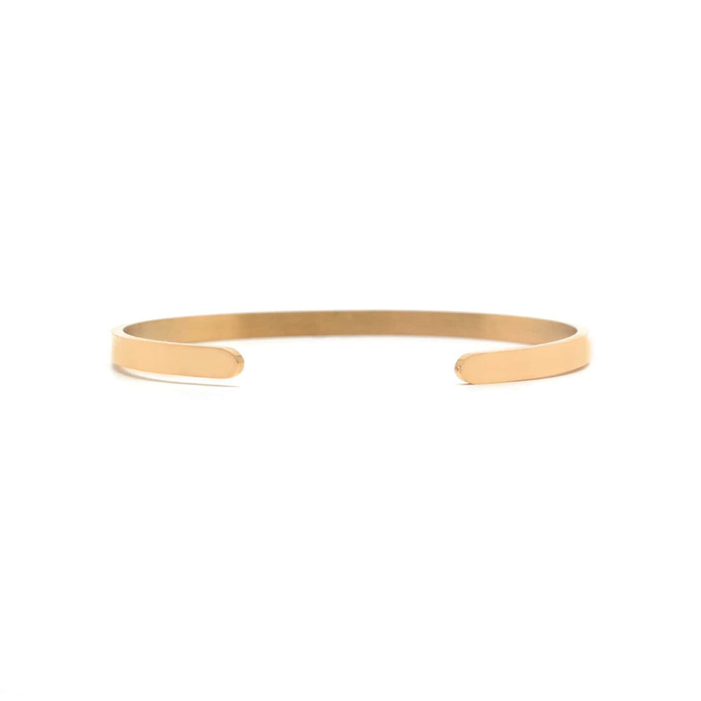 ONE DAY AT A TIME Rose Gold Mantra Band