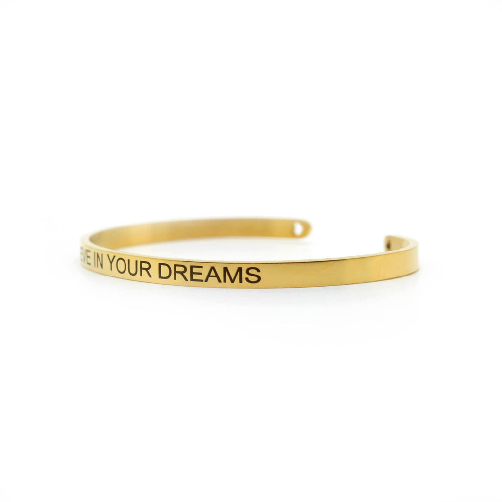 BELIEVE IN YOUR DREAMS Gold Mantra Band - Joker & Witch