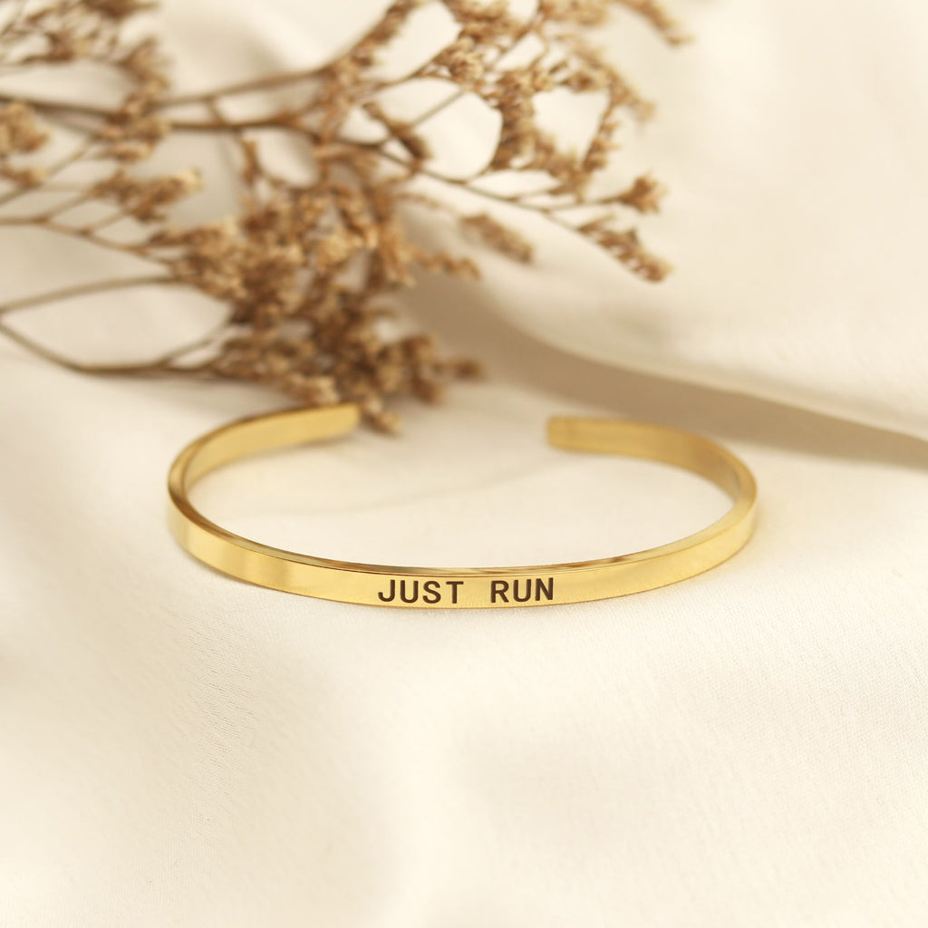 Just Run Gold Mantra Band - Joker & Witch