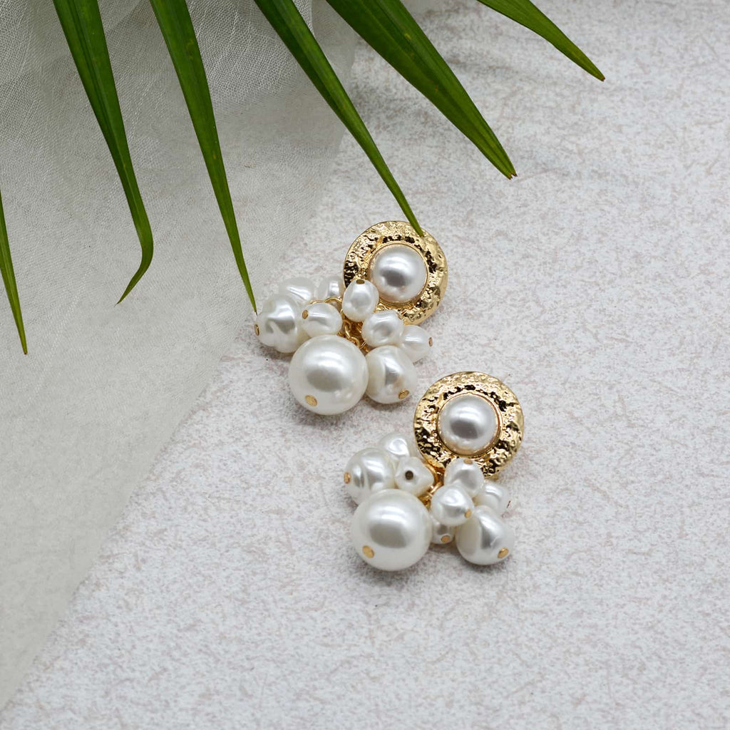 Mikimoto Pearl Gold Earrings - Joker & Witch