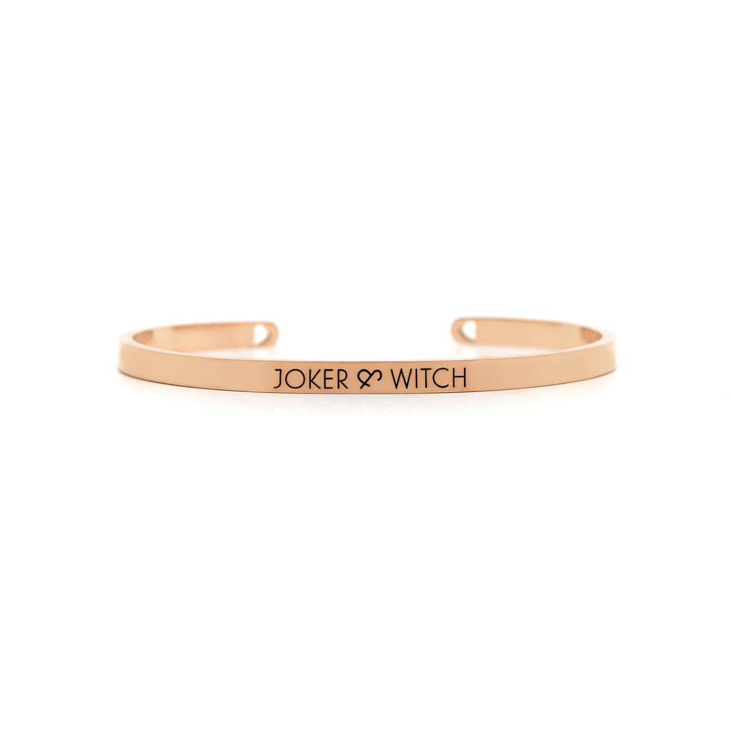 Taffy Rosegold  Magnetic Watch Bracelet Stack - Joker & Witch